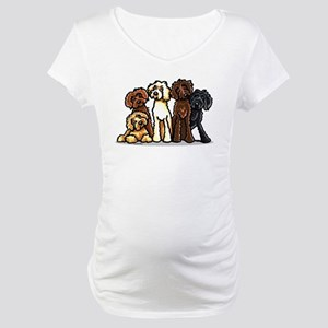 Labradoodle Lover Maternity T-Shirt