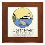 Ocean River Framed Tile