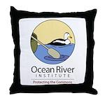 Ocean River Throw Pillow