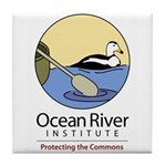 Ocean River Tile Coaster