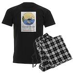 Ocean River Men's Dark Pajamas