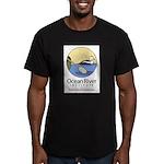 Ocean River Men's Fitted T-Shirt (dark)