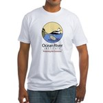Ocean River Fitted T-Shirt