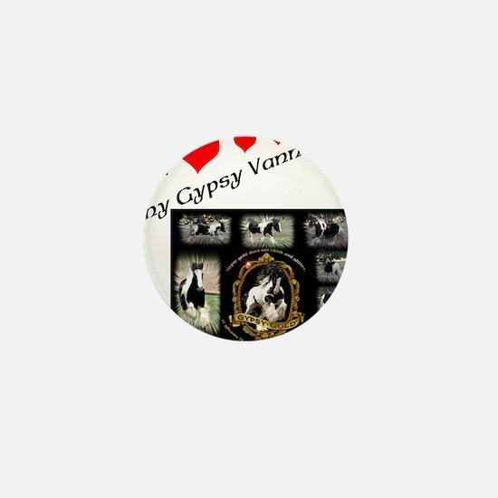 Cute Gypsy Mini Button