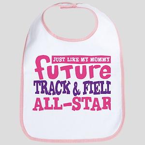 Future Track All Star Girl Bib