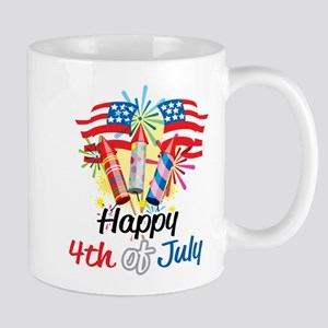 4th of July Fireworks Mug
