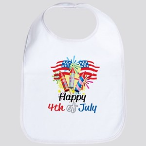 4th of July Fireworks Bib