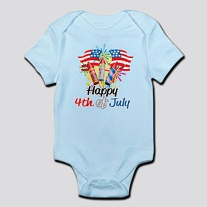 4th of July Fireworks Infant Bodysuit