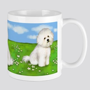 Bichon Frise Dogs Park Mug