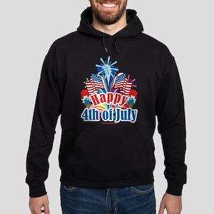 Happy 4th of July Hoodie (dark)