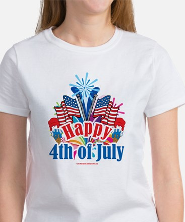 Happy 4th of July Women's T-Shirt