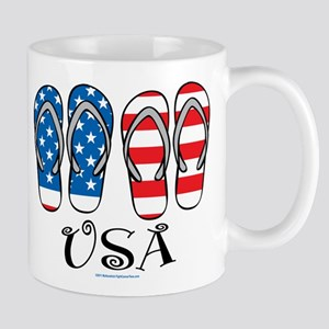USA Flip Flops Mug