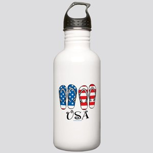 USA Flip Flops Stainless Water Bottle 1.0L