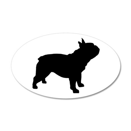 French Bulldog 20x12 Oval Wall Decal  sc 1 st  CafePress & French Bulldog Wall Decals - CafePress