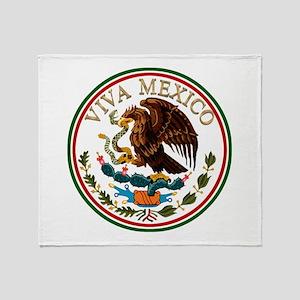 VIVA MEXICO! Throw Blanket