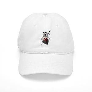 e68e015f2a7 Crusader Cross Hats - CafePress
