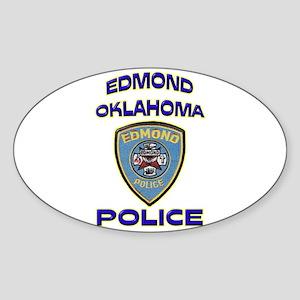 Edmond Police Department Sticker (Oval)