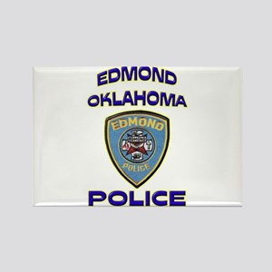 Edmond Police Department Rectangle Magnet