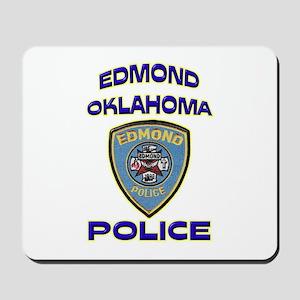 Edmond Police Department Mousepad