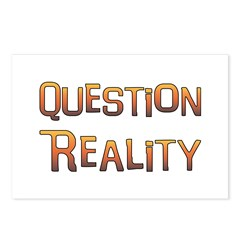 Question Reality Postcards (Package of 8)