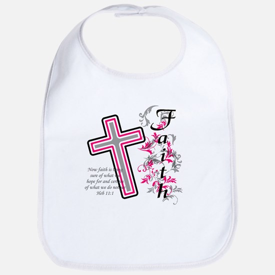 Faith with cross Bib