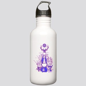 Purple Gaia Stainless Water Bottle 1.0L