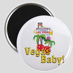 Vegas Baby! Magnet