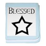 Peantacle Blessed Be baby blanket