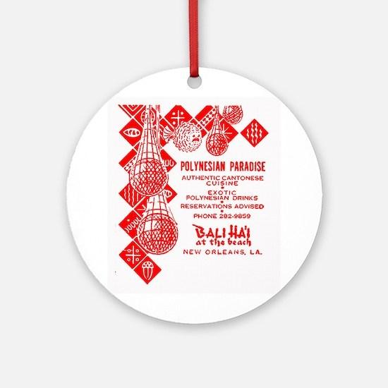 Bali Hai at Pontchartrain Beach Ornament (Round)