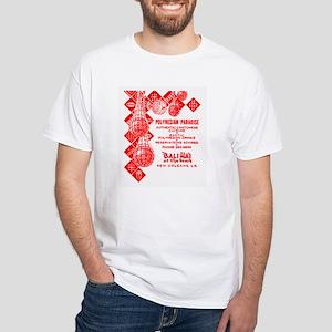 Bali Hai at Pontchartrain Beach White T-Shirt