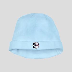 Flag Baseball baby hat