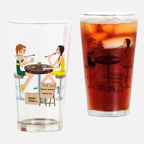 Oregon Sushi Girls Pint Glass