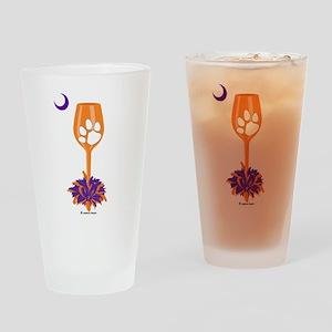 Tipsy Tiger (Orange) Pint Glass