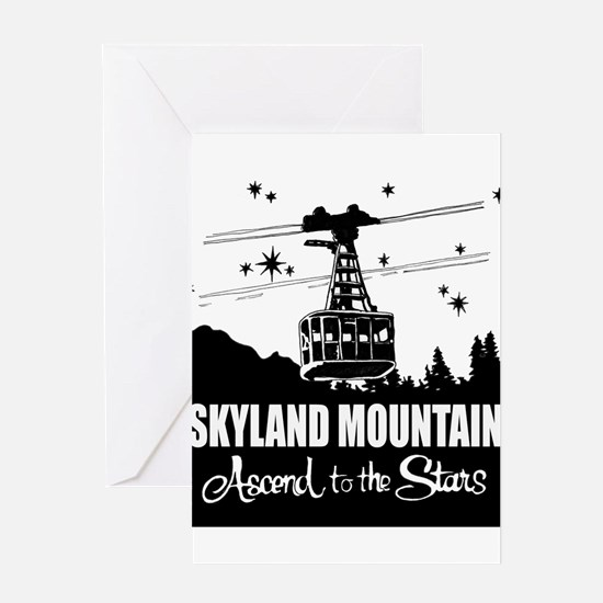 Skyland Mountain Souvenir Greeting Card