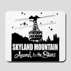 Skyland Mountain Souvenir Mousepad