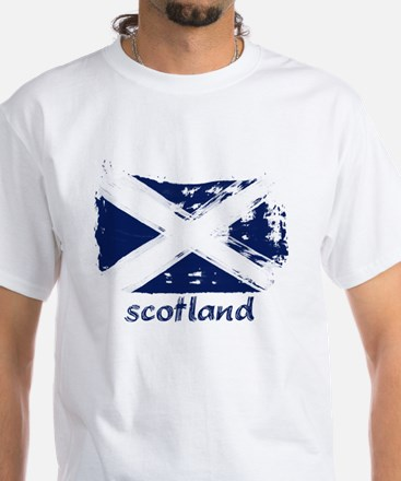 Scotland White T-Shirt