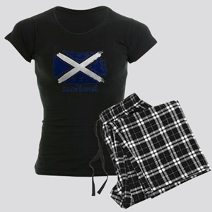 Scotland Women's Dark Pajamas