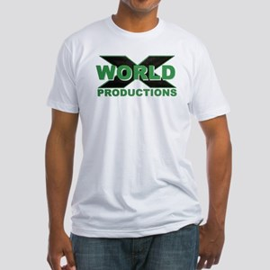 World X Logo Fitted T-Shirt