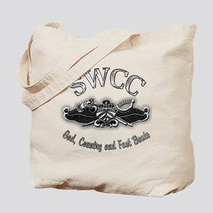 USN Navy SWCC Badge Tote Bag