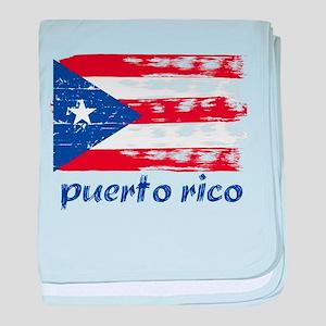 Puerto rico baby blanket