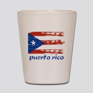 Puerto rico Shot Glass
