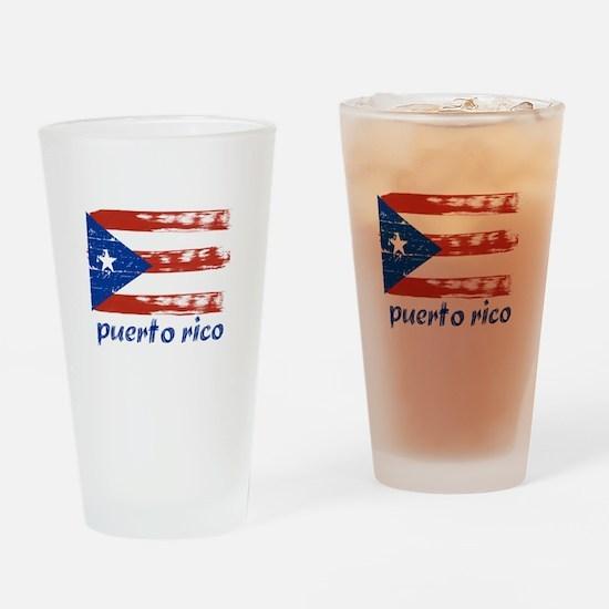 Puerto rico Pint Glass