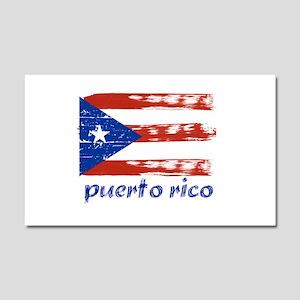 Puerto rico Car Magnet 12 x 20