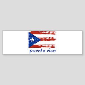 Puerto rico Sticker (Bumper)