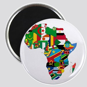 Flags of Africa Magnet
