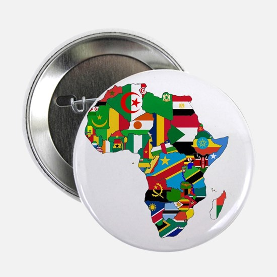 "Flags of Africa 2.25"" Button"
