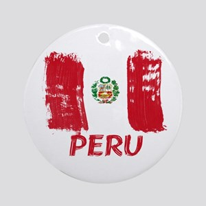 Peru Ornament (Round)