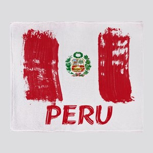 Peru Throw Blanket