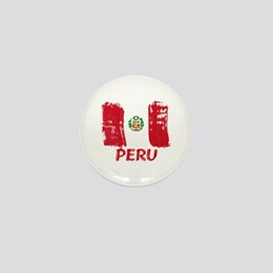 Peru Mini Button