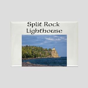Split Rock Lighthouse Rectangle Magnet Magnets